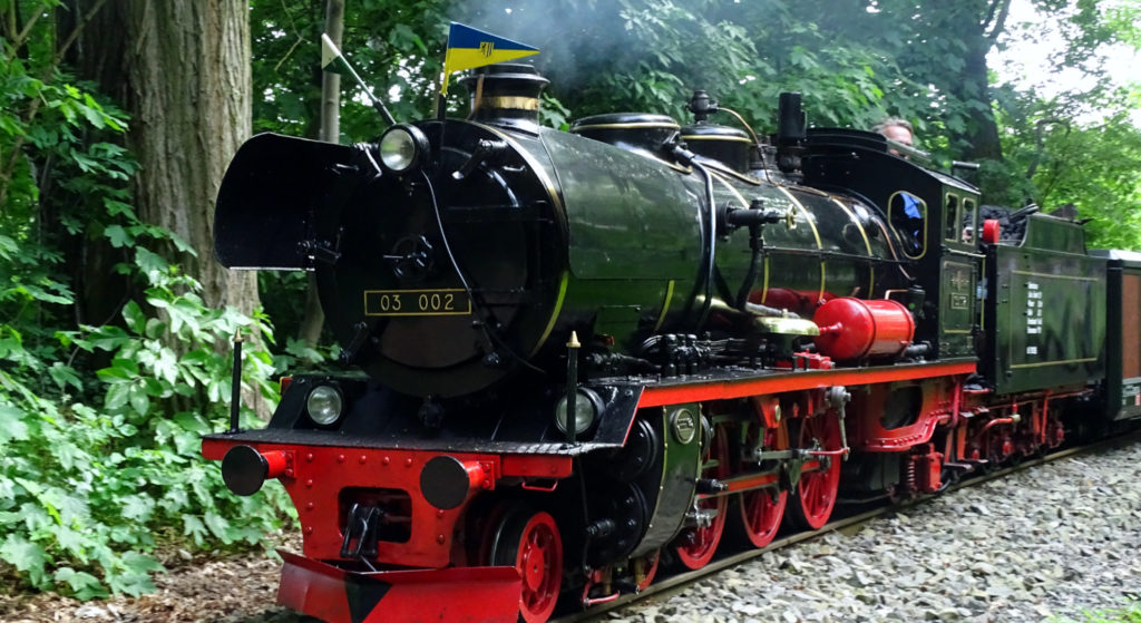 """Dampflokomotive """"03 002"""""""